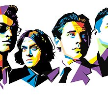 Arctic Monkeys' Members by Haminater