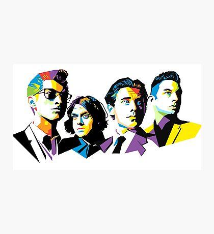 Arctic Monkeys' Members Photographic Print