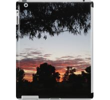 Sun up in the west iPad Case/Skin