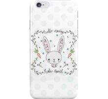 CUTE BUNNY HONEY iPhone Case/Skin