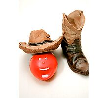 """Comedy Cowboy Round-Up"" Photographic Print"