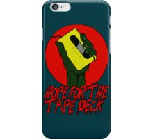Hope For The Tape Deck - Zombie iPhone Case/Skin