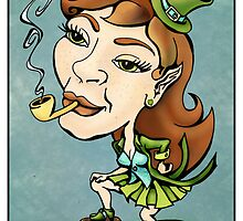 Spunky Leprechuan Girl by rmcotton