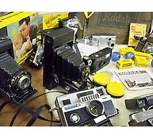 Vintage KODAK Camera collection Photographic Print