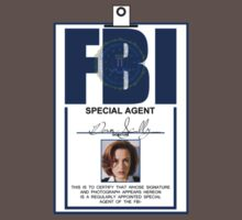 Dana Scully ID Badge  by Michael Bourgeois