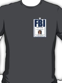 Dana Scully ID Badge  T-Shirt
