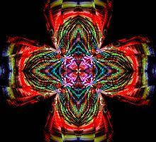 Kaleidoscope Cross by Julie Shortridge