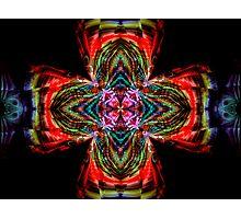 Kaleidoscope Cross Photographic Print