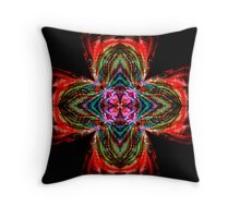 Kaleidoscope Cross Throw Pillow