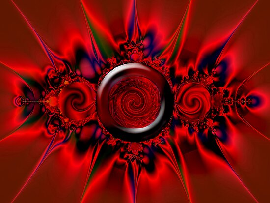 Scarlet Fractal by saleire