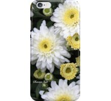 Chrysanthemums ~ From Bud to Bloom iPhone Case/Skin