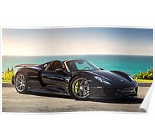 Porsche 918 Spyder in the California Sun Poster