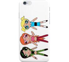 Powerpuff Teenage Girls iPhone Case/Skin