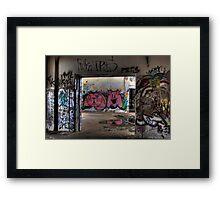 Graffiti Art Framed Print