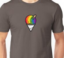 Rainbow shave ice Unisex T-Shirt