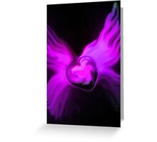 My Heart has Wings from Your Love Greeting Card