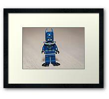 Batman with Scuba gear Framed Print