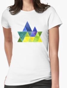 Spring in the mountains Womens Fitted T-Shirt