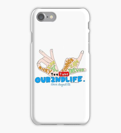 Our2ndLife drawn collage iPhone Case/Skin
