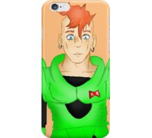DBZ-Android Number Sixteen iPhone Case/Skin
