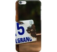 25 M Belgrano iPhone Case/Skin