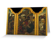 Dornicke, Jan van (The Master of 1518) - 1540 Greeting Card