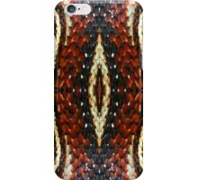Red Striped Snake iPhone Case/Skin