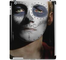 Jack Gleeson Day of the Dead, Dia de los Muertos, Makeup iPad Case/Skin