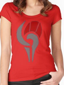 Game Shame logo Women's Fitted Scoop T-Shirt