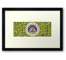 Jumbo Lima Beans Framed Print