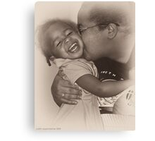Mama Love Canvas Print