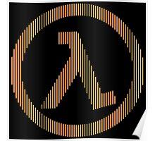 Half-Life Lambda Poster