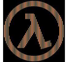 Half-Life Lambda Photographic Print