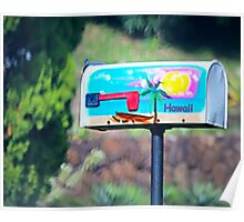 Cool Mailbox in the woods Poster