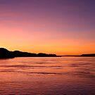 Flaming Australian Sunset by Gina Ruttle  (Whalegeek)