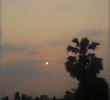 Sunrise Haze by DAdeSimone