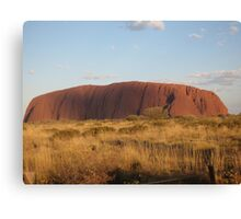 the rock - australia Canvas Print