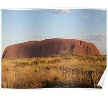 the rock - australia Poster