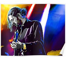 Hozier Digital Painting Poster