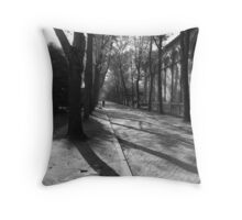 Pere-Lachaise Cemetary Throw Pillow