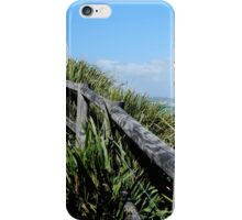 Walking Track Fence Byron Bay N.S.W  Australia iPhone Case/Skin