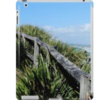Walking Track Fence Byron Bay N.S.W  Australia iPad Case/Skin