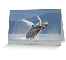 Dancing With The Waves #2 Greeting Card