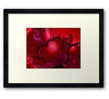 Passion Flowing Framed Print