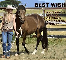 BEST WISHES by Barbara  Jean