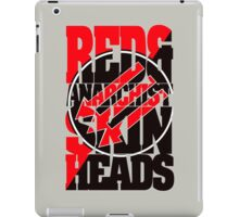 Red And Anarchist Skinhead iPad Case/Skin