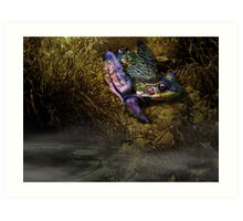 Faerie of the Pond Art Print