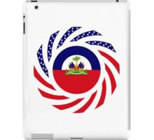 Haitian American Multinational Patriot Flag Series iPad Case/Skin