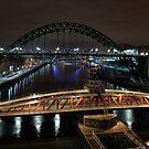 Spanning the Tyne by Richard Shepherd