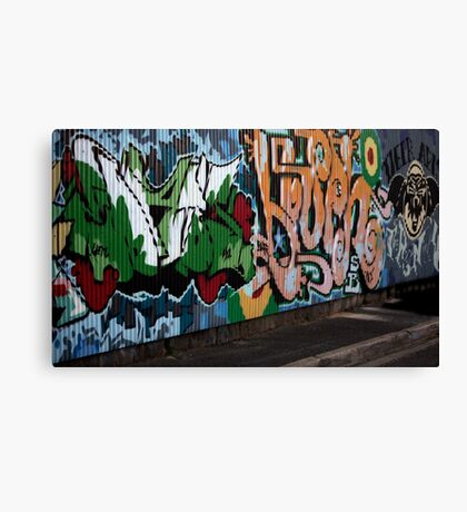 Richmond lanes Canvas Print